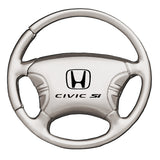 Honda Civic SI Keychain & Keyring - Steering Wheel