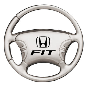 Honda Fit Keychain & Keyring - Steering Wheel