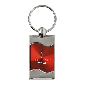 Lincoln MKZ Keychain & Keyring - Red Wave