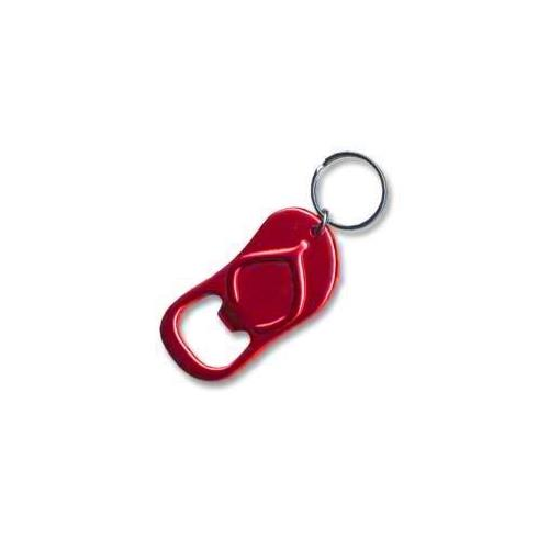 Sandle Keychain & Keyring - Bottle Opener - Red