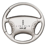 Lincoln MKZ Keychain & Keyring - Steering Wheel