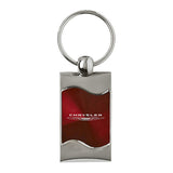 Chrysler Keychain & Keyring - Burgundy Wave