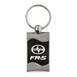 Scion FR-S Keychain & Keyring - Black Wave