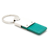 Chrysler Pacifica Keychain & Keyring - Duo Premium Green Leather
