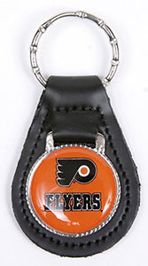 Philadelphia Flyers NHL Keychain & Keyring - Leather