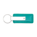 Jeep Keychain & Keyring - Green Premium Leather