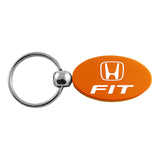 Honda Fit Keychain & Keyring - Orange Oval