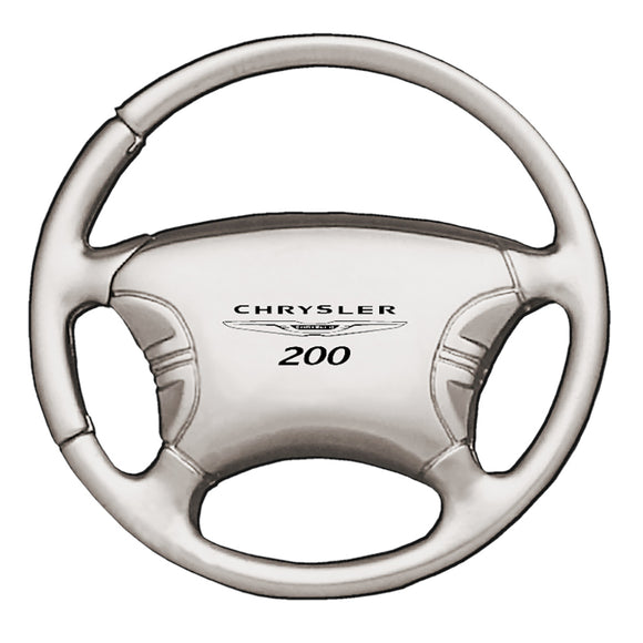 Chrysler 200 Keychain & Keyring - Steering Wheel