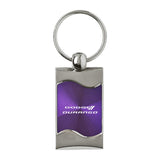 Dodge Durango Keychain & Keyring - Purple Wave
