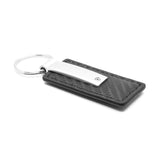 Jeep Rubicon Keychain & Keyring - Carbon Fiber Texture Leather