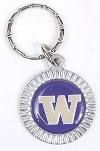 Washington Huskies Keychain & Keyring - Circle