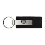 Jeep Grill Keychain & Keyring - Premium Leather