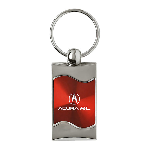 Acura RL Keychain & Keyring - Red Wave