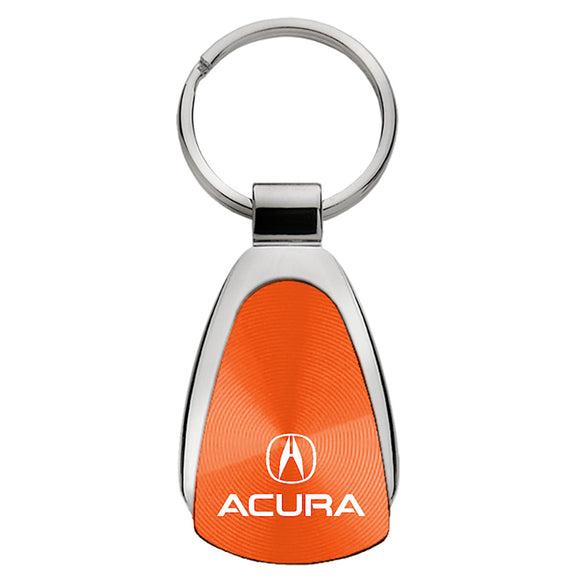 Acura Keychain & Keyring - Orange Teardrop