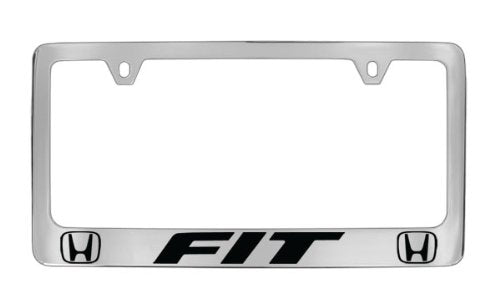 Honda Fit Chrome Plated Zinc License Plate Frame Holder