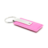 Jeep Grill Keychain & Keyring - Pink Premium Leather