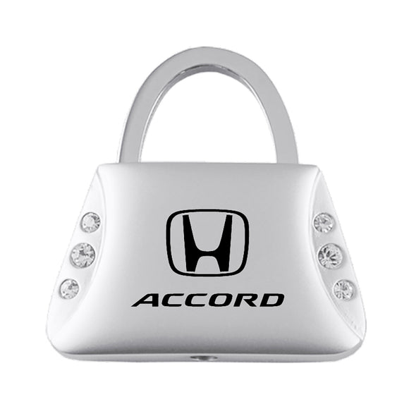 Honda Accord Keychain & Keyring - Purse with Bling