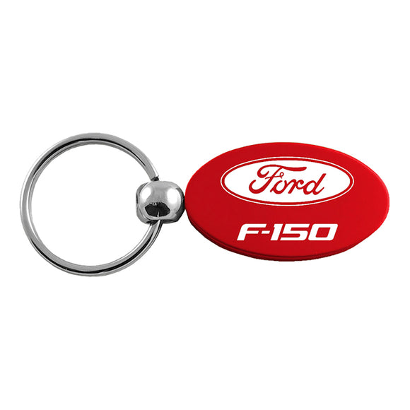 Ford F-150 Keychain & Keyring - Red Oval