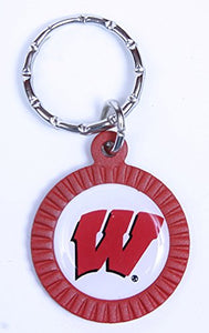 Wisconsin Badgers Keychain & Keyring - Circle
