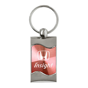 Honda Insight Keychain & Keyring - Pink Wave