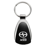 Scion xB Keychain & Keyring - Black Teardrop