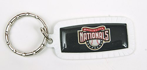 Washington Nationals MLB Keychain & Keyring - Rectangle