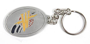 Golden State Warriors NBA Keychain & Keyring - Pewter