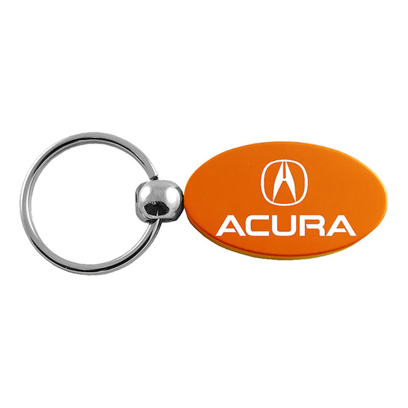 Acura Keychain & Keyring - Orange Oval
