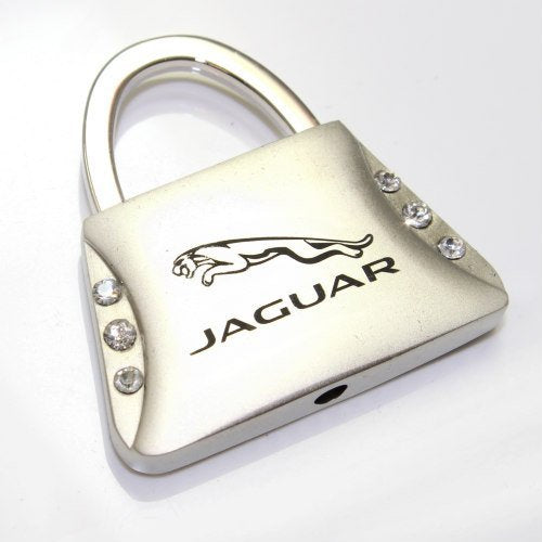 Jaguar Keychain & Keyring - Purse with Bling