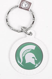 Michigan State Spartans Keychain & Keyring - Circle