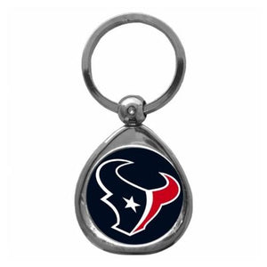 Houston Texans NFL Keychain & Keyring - Premium Teardrop