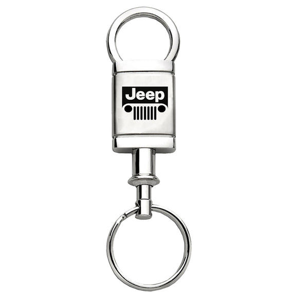 Jeep Grill Keychain & Keyring - Valet