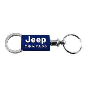 Jeep Compass Keychain & Keyring - Navy Valet