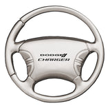 Dodge Charger Keychain & Keyring - Steering Wheel