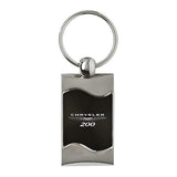 Chrysler 200 Keychain & Keyring - Black Wave