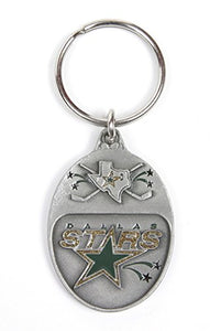 Dallas Stars NHL Keychain & Keyring - Pewter