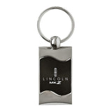 Lincoln MKZ Keychain & Keyring - Black Wave