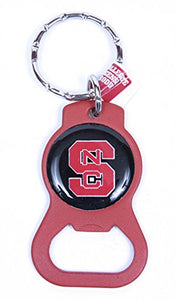 North Carolina State Wolfpack Keychain & Keyring - Bottle Opener