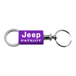 Jeep Patriot Keychain & Keyring - Purple Valet