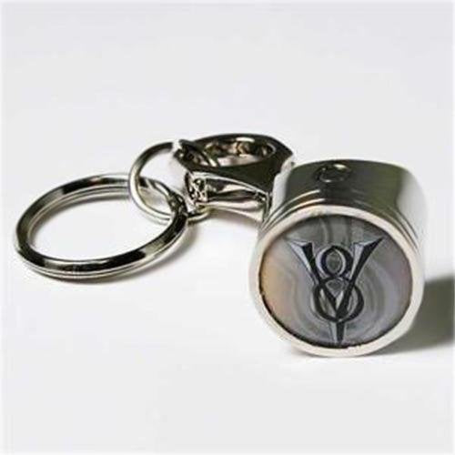 Ford V8 Keychain & Keyring - Piston