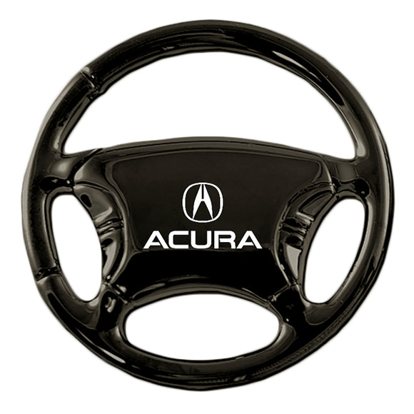 Acura Keychain & Keyring - Black Steering Wheel