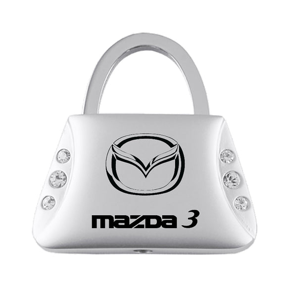 Mazda 3 Keychain & Keyring - Purse with Bling