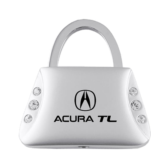 Acura TL Altima Keychain & Keyring - Purse with Bling