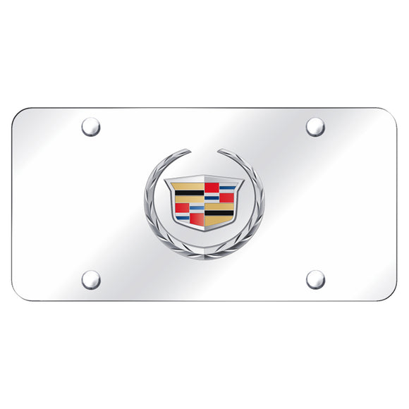 Cadillac (New) Logo Chrome/Chrome Plate