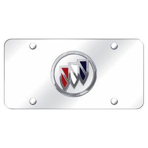 Buick Logo Chrome on Chrome Plate
