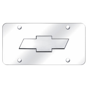 Chevrolet Logo Chrome on Chrome Plate