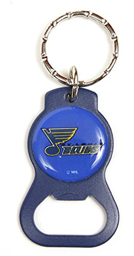 St. Louis Blues NHL Keychain & Keyring - Bottle Opener - Blue