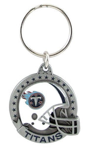 Tennessee Titans NFL Keychain & Keyring - Pewter