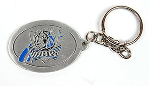 Dallas Mavericks NBA Keychain & Keyring - Pewter