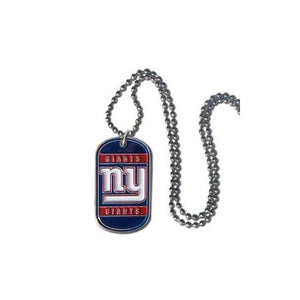 New York Giants NFL Keychain & Keyring - Dog Tag
